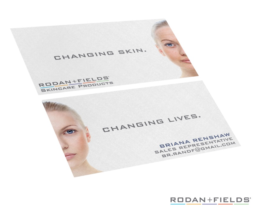 Skin Care Business Cards | HitUsUpDesigns