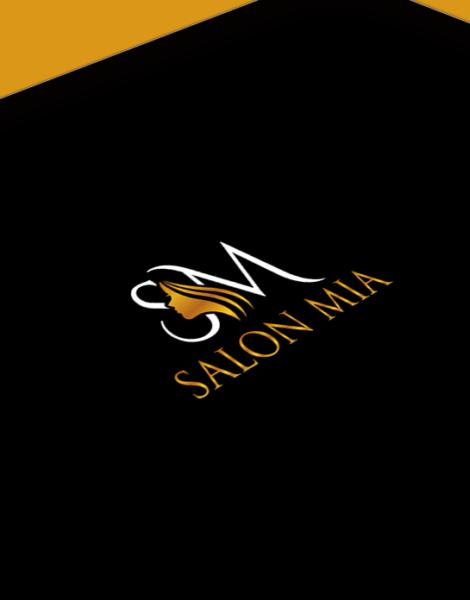 custom salon logo design